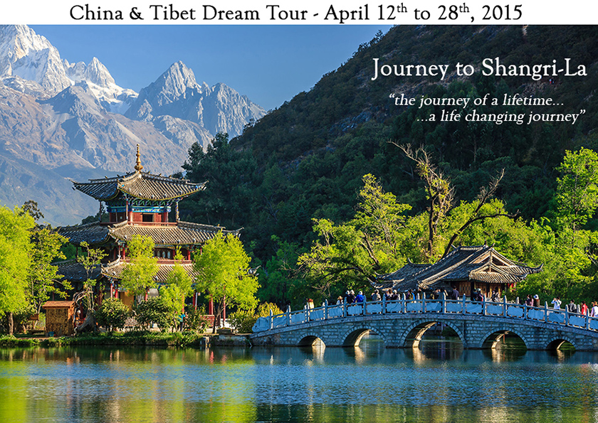 Lijiang Black Dragon Pool and Jade Dragon Snow Mountain